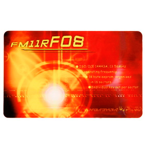 FM11RF08 Contactless Smart Card