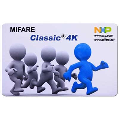 MIFARE Classic® 4K de tarjeta inteligente sin contacto